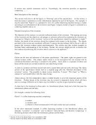 Resume For One Job by Drafting Of A Patent Specification