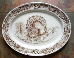 fall serving platters 100 best turkey transferware images on dish dishes
