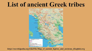 A Map Of Ancient Greece by List Of Ancient Greek Tribes Youtube