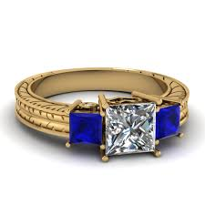 Blue Wedding Rings by Extraordinary Styles Of Sapphire Engagement Rings Online
