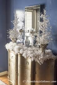 and white christmas home decorating ideas