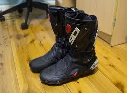 used motorcycle boots fs sydney sidi vertigo boots used