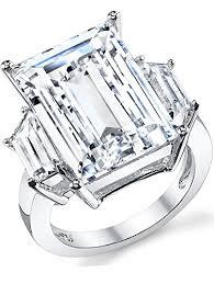 large silver rings images Kim kardashian sterling silver engagement wedding ring jpg