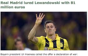 Lewandowski Memes - real madrid tried to gazump bayern offering lewandowski an 81m 6