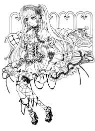 gothic fairy coloring pages emo coloring pages places to visit