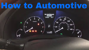 lexus rx 350 jack location how to reset the maintenance required light on a 2012 lexus rx 350