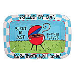 personalized bbq platter trendy gifts our name is mud grilled by platter