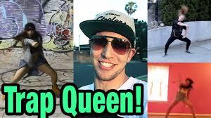 tutorial dance trap queen trap queen fetty wap dance compilation mattsteffanina