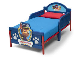 White Plastic Toddler Bed Paw Patrol 3d Toddler Bed Walmart Canada
