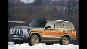 jeep station wagon 2018 2018 new jeep grand wagoneer woody price youtube