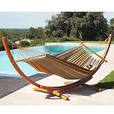 lazydaze hammocks 12feet wood arc hammock stand and 100 cotton