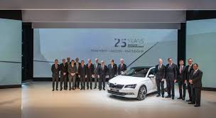 volkswagen group headquarters success story škoda and volkswagen celebrate 25 year partnership