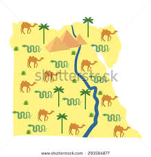 nile river on map nile river map stock images royalty free images vectors