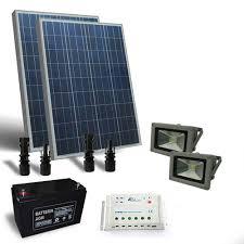 solar lighthouse light kit solar lighting kit 200w 12v outdoor 2x lighthouse led 30w photovoltaic
