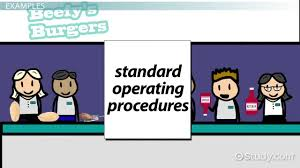 standard operating procedures definition u0026 explanation video