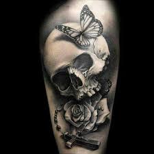 20 best butterfly skull tattoo men images on pinterest skulls