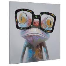 amazon com yosemite home decor artac0288 hipster froggy multi amazon com yosemite home decor artac0288 hipster froggy multi posters prints