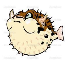 peixe balão cartoon u2014 vector stock insima baiacu pinterest