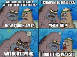 Tough Spongebob Meme - salty spitoon by daddius on deviantart