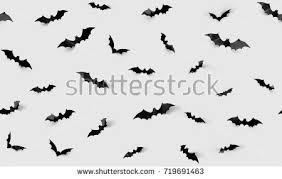decoration scary concept black paper stock photo