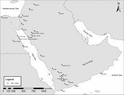 Arabian Desert Map The Kingdoms Of Ancient Arabia