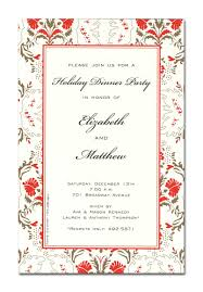 Invitation Card For Dinner Christmas Open House Invitations Christmas Open House