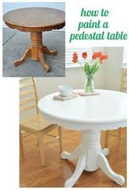 Painted Kitchen Tables And Chairs by Kitchen Table Redo Transforms The Whole Space How Cool Is That