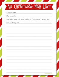 christmas wish list best 25 santa wish list ideas on free printable santa