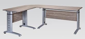 Schreibtisch H Enverstellbar Büroeinrichtung Büromöbel Aktenschrank Aktenregal Trüffeleiche