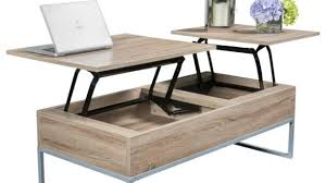 flip top coffee table flip up coffee table contemporary mid century pop storage walnut