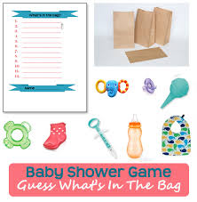 what s in the bag baby shower baby shower for hostesses who aren t crafty rookie
