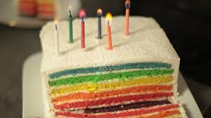 recettes hervé cuisine recette du rainbow cake