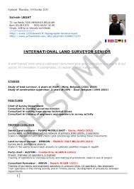 land surveying resume resume for your job application