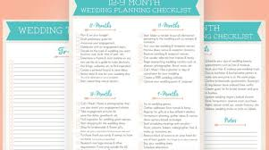 Simple Wedding Planner Wedding Checklist Printable Take The Stress Out Of Destination