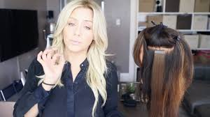 hair extension types my favorite hair extension types and application demo