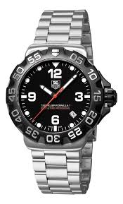 tag heuer black friday deals amazon com tag heuer men u0027s wah1110 ba0858 formula 1 black dial