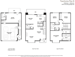 townhome plans 4 highland ii 3 bedrooms plans for townhomes with garages stupefying