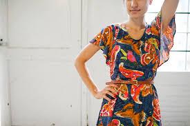 date night dress april rhodes sewing pattern