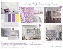 quinn u0027s nursery u2013 part 1 lavender and grey bedding