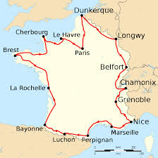France On Map by File Tour De France 1911 Map Fr Svg Wikimedia Commons