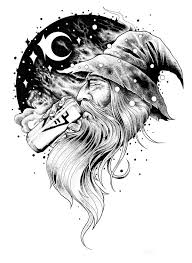 white wizard tattoo tattoo collections