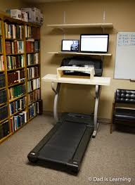 Long Computer Desk by Treadmill Desk Or How Computer Nerds Live Long And Prosper Dad