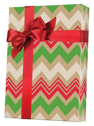 kraft christmas wrapping paper zig zag christmas kraft gift wrap innisbrook wrapping paper