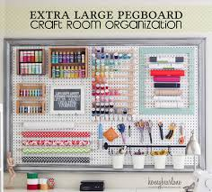 extra large pegboard for craft room organization i dont have a