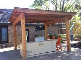 Outdoor Kitchen Roof Ideas by Outdoor Kitchen Stonewood Builders Llc Lincoln Ne