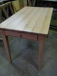 table cuisine chene fabrication d une table cérusée en chêne atelier de l ébéniste c