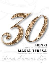 30 ans mariage 30 ans de mariage d henri et teresa de luxembourg parution