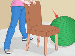 Bounce Ball Chair How To Exercise Buttocks While Sitting 6 Steps With Pictures