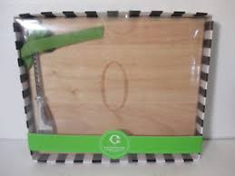 monogram cheese board c monogram cheese board spreader q nwt 22 ebay