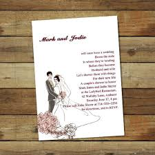 couples wedding shower invitations custom pink coed couples wedding shower invitations ewbs010